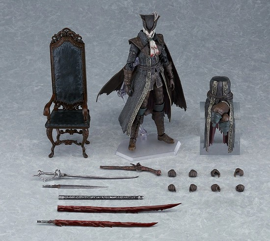 figma Bloodborne 時計塔のマリア DXエディション / 通常版マックスファクトリー 可動フィギュアが予約開始! 0817hobby-maria-IM002