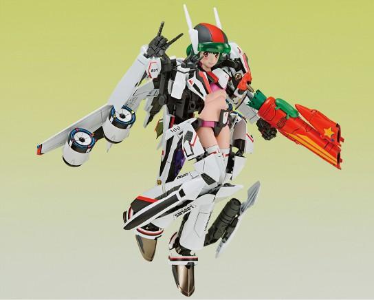 V.F.G. マクロスF VF-25F メサイア ランカ・リー アオシマ プラモデルが予約開始! 0908hobby-ranka-IM001