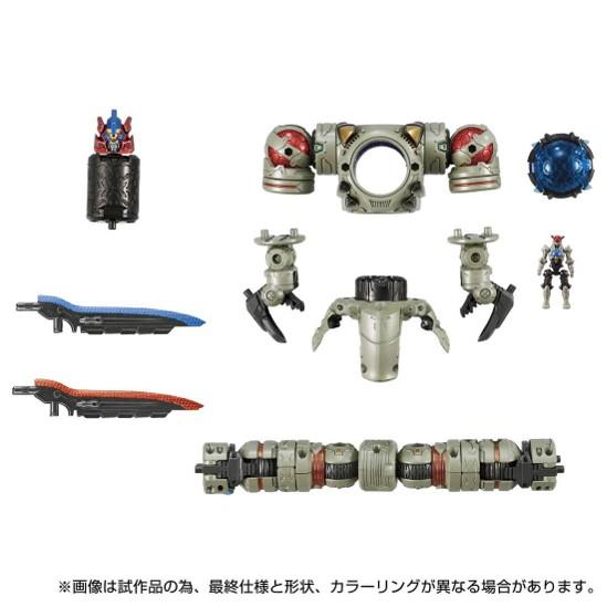 ダイアクロン DA-86 レギオコア<リッパー/アノードタイプ> タカラトミー 可動フィギュアが予約開始! 1007hobby-dia-IM002