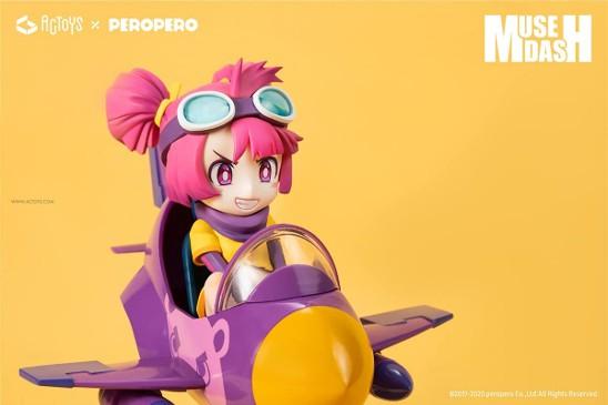 Muse Dash ブロウ パイロット ver. 絵梦トイズ(エモントイズ) フィギュアが予約開始! 1008hobby-muse-IM005