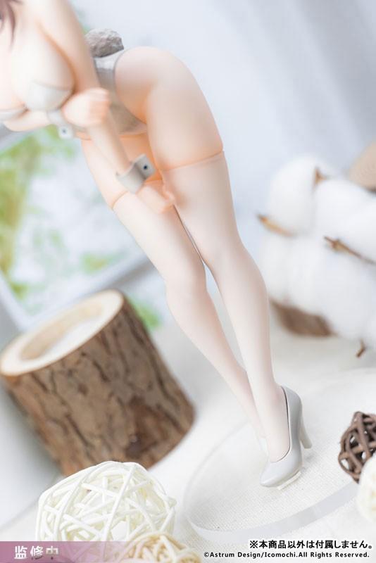 イコモチ 白バニーおねえさん Astrum Design フィギュアが一部店舗限定で予約開始! 1014hobby-bunny-IM001