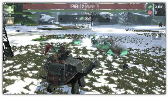 「War Tortoise」がVer.1.1.1にアップデート。新たに6体のヒーローユニットが追加されプレイしやすくなったぞ! 38b0a473