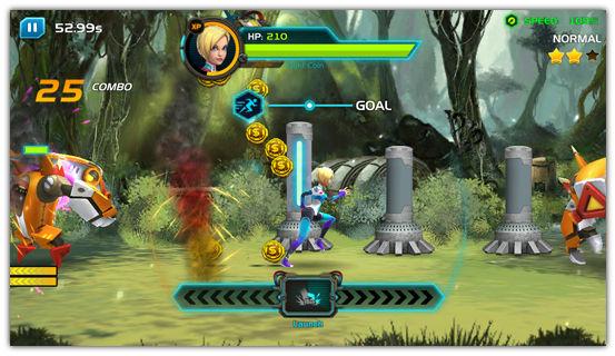 「Chrono Strike」 アメリカで人気の高いタイミングアクション+ベルトスクロールアクションなアクションゲーム。 40744a7b