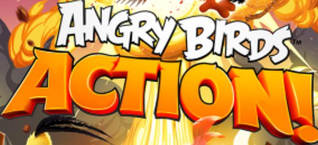"""【新作】「Angry Birds Action!」が配信開始。ピンボール風アクションパズルが面白い""""Angry Birds""""の最新作が登場。 53365158"""