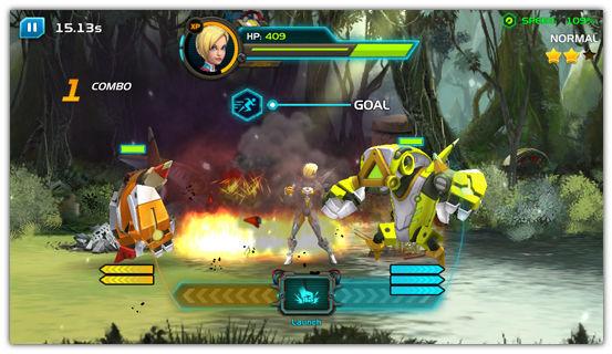 「Chrono Strike」 アメリカで人気の高いタイミングアクション+ベルトスクロールアクションなアクションゲーム。 7d0f6285