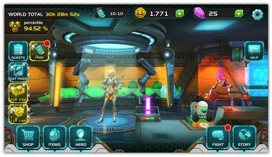 「Chrono Strike」 アメリカで人気の高いタイミングアクション+ベルトスクロールアクションなアクションゲーム。 991caeaf