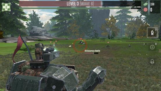"""【新作】""""Foursaken Media""""の新作ゲーム「War Tortoise」が配信開始。迫り来るメカとカエル軍団を撃ちまくれ! d17a2637"""
