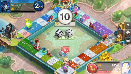 【新作】Netmarbleとディズニーによるスゴロクゲーム「ディズニーマジカルダイス」がサービス開始。 f6f7eb75