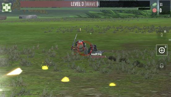 """【新作】""""Foursaken Media""""の新作ゲーム「War Tortoise」が配信開始。迫り来るメカとカエル軍団を撃ちまくれ! fea98eb1"""